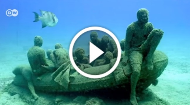На Лансароте відкрився перший підводний музей Європи – Museo Atlantico