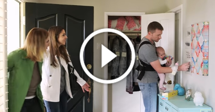Що стається, коли тато вперше залишається вдома з малюком