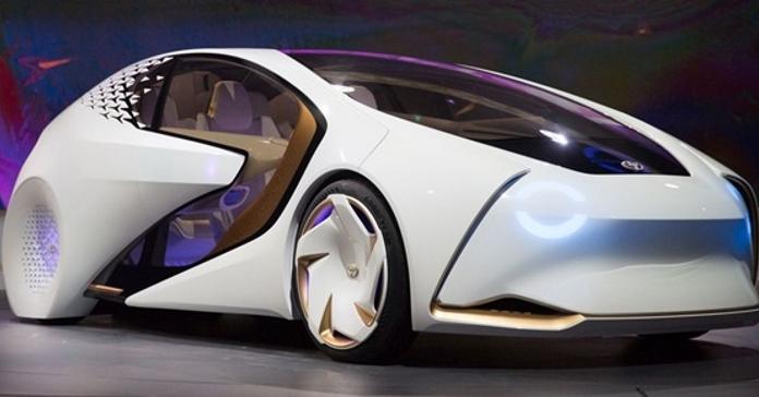 Toyota розробила перший автомобіль зі штучним інтелектом на ім'я Yui