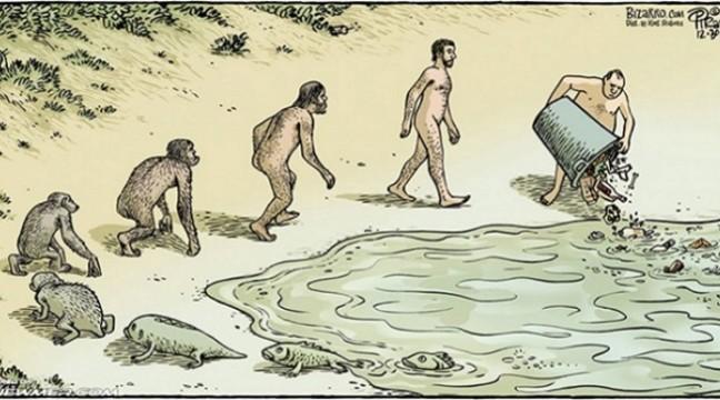 16 сатиричних ілюстрацій, які змусять вас по-іншому подивитися на еволюцію