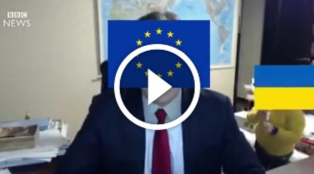Українці переробили скандальне відео, надавши йому політичного змісту