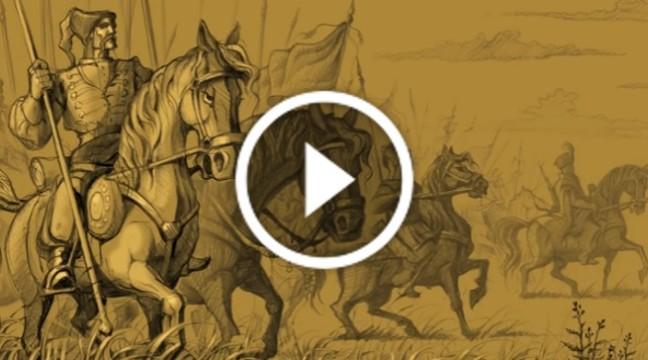 Перший аудіо-комікс від Юрія Журавля. Про Івана Мазепу