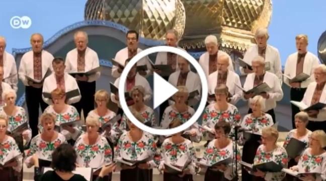 Українські пісні у виконанні нідерландців. Унікальний хор!