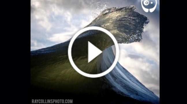 Хвилі у заповільненій зйомці. Аж дух захоплює