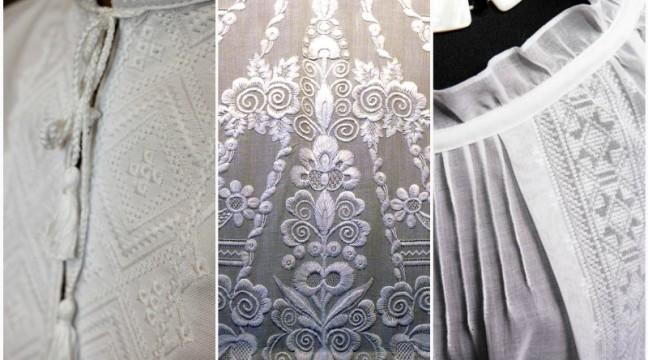 """Унікальна полтавська вишивка: дивовижні візерунки """"білим по білому"""""""