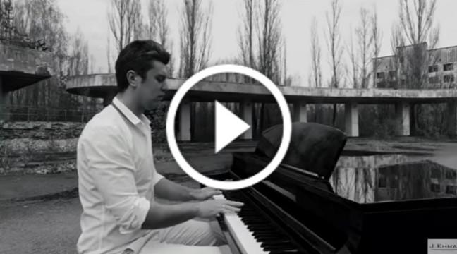 До мурашок: відомий український піаніст зняв кліп у Чорнобилі