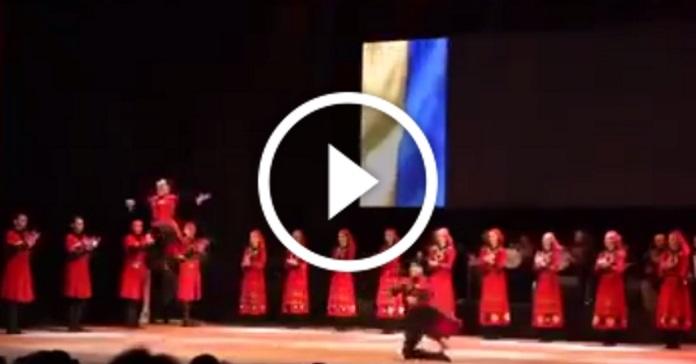 Крутезний танцювальний батл між українськими і грузинськими колективами