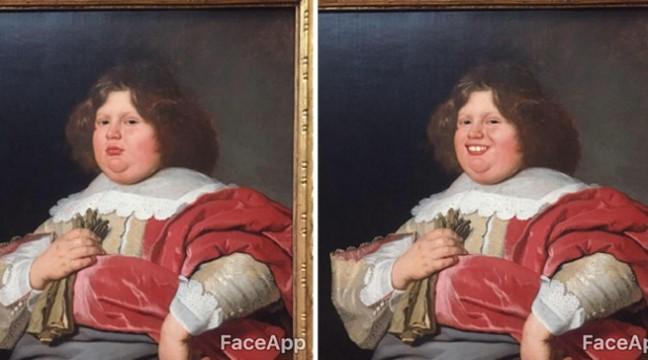 """Більше позитиву: Відвідувач музею """"подарував"""" усмішки серйозним обличчям класичного мистецтва"""