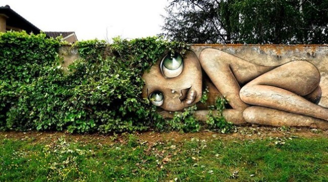 Чудове вуличне мистецтво як частина навколишнього середовища