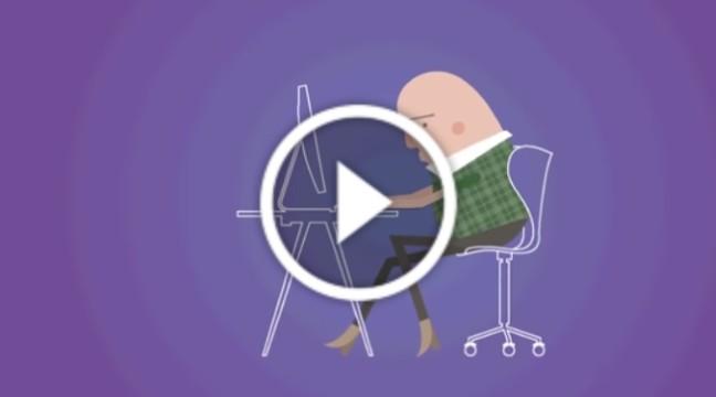 """Цікаве відео на тему """"Чому сидіти шкідливо"""""""
